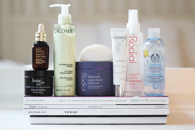skincare routine dec. '13