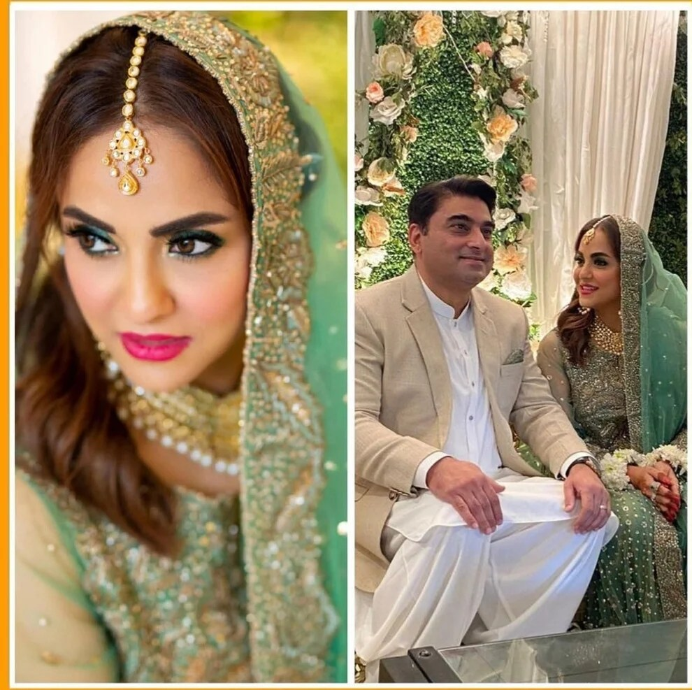 Famous TV host Nadia Khan tied the knot for 3rd Time. Here all we know about wedding