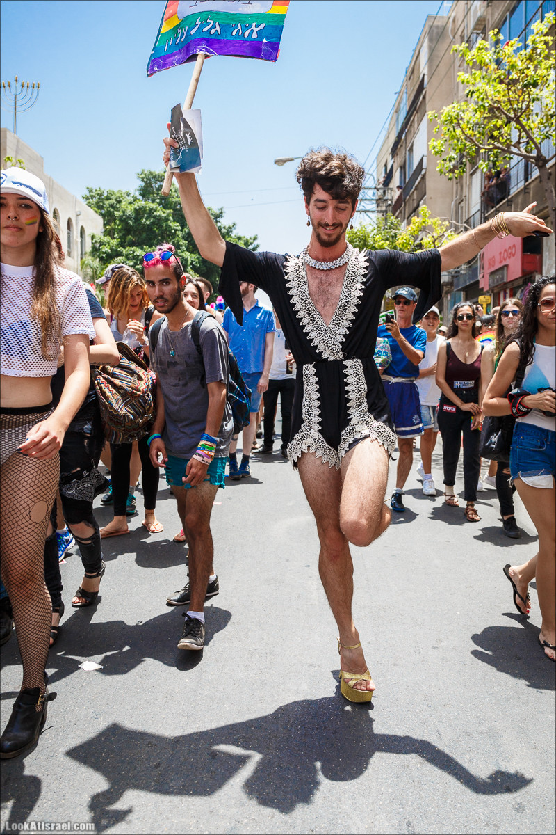 Парад гордости в Тель-Авиве | Tel Aviv Pride Parade 2016 | מצעד הגאווה בתל אביב | LookAtIsrael.com - Фото путешествия по Израилю