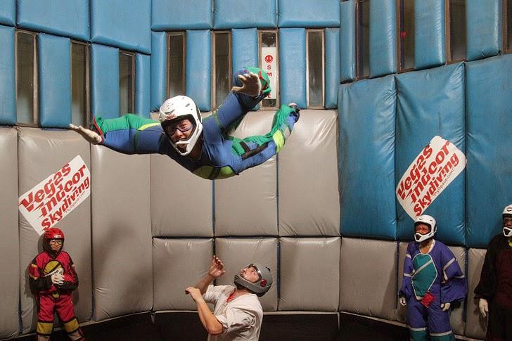Indoor Skydiving Las Vegas Bucket List.