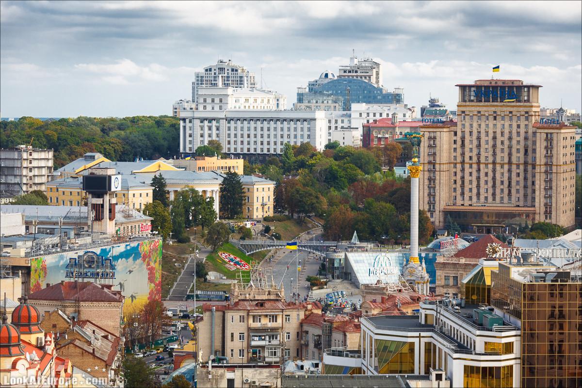 Слава Украине израильскими глазами. Площадь Независимости в Киеве - Майдан