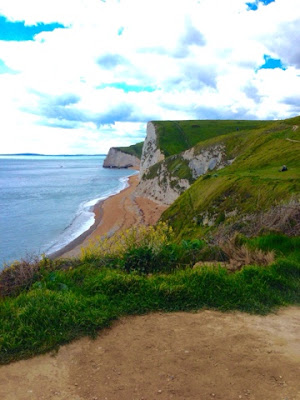 View of Durdle Door Beach