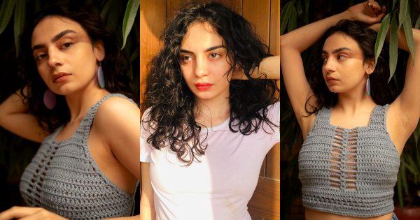 Actress Mehar Bano Latest Knit Wear Photo Shoot