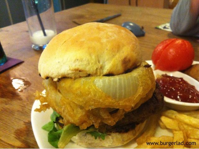 Cross Foxes Welsh Black Beast Burger