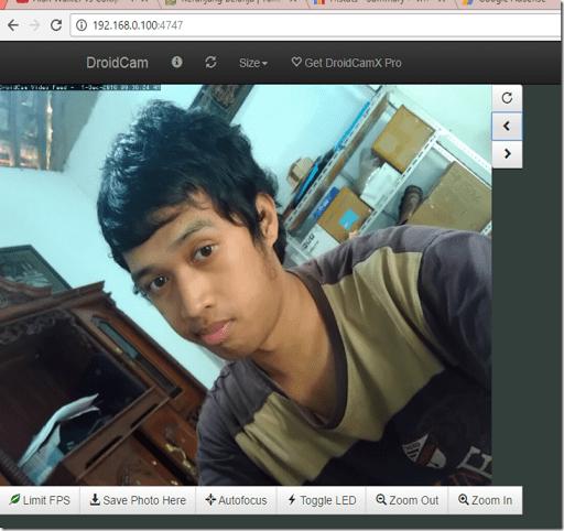 cara menjadikan kamera hp menjadi webcam