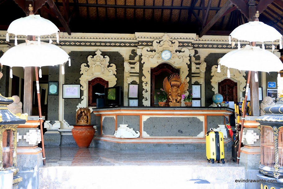 Lobby yang sangat Bali