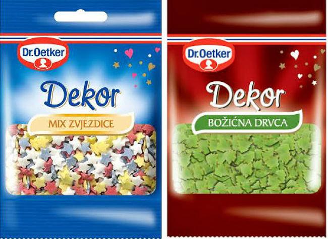 Dr. Oetker Mini dekori