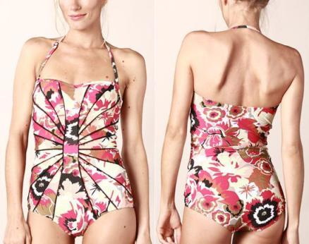 Summer swimwear halter strap