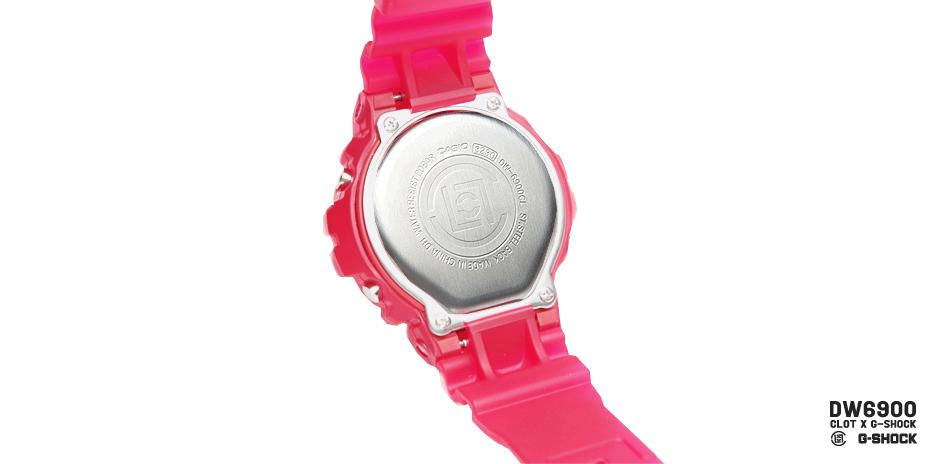 *CLOT 8週年第一擊:CASIO G-Shock x CLOT紅色橡膠錶! 5