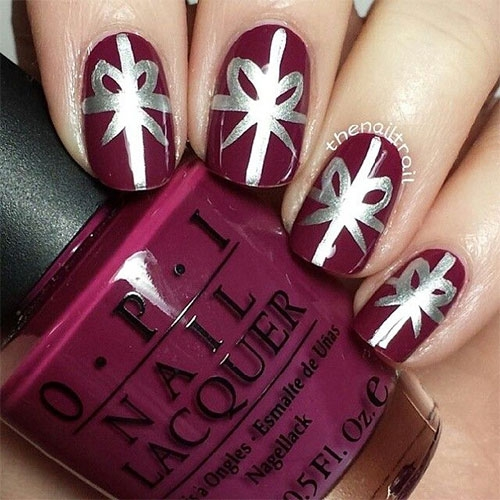 New Christmas Present Nail Art Designs 2016 Styles 2d