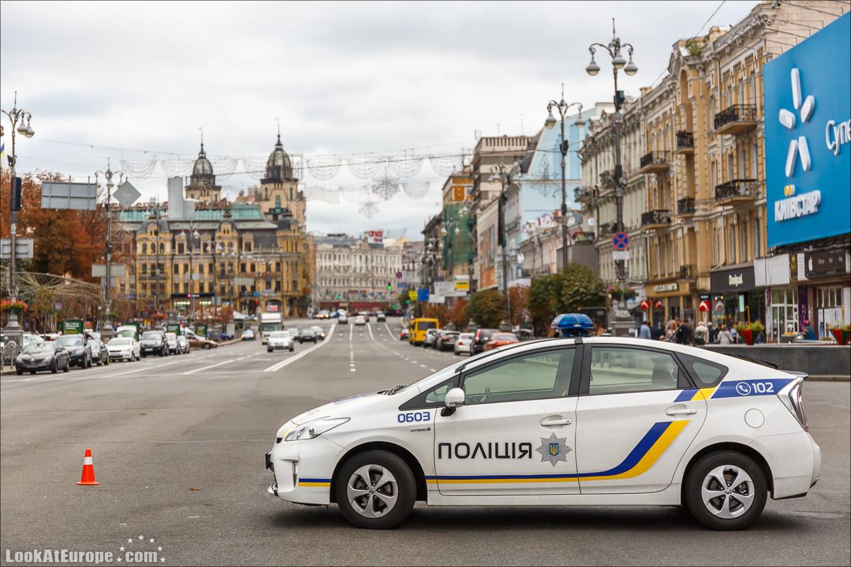 Неспешный бег по Киеву