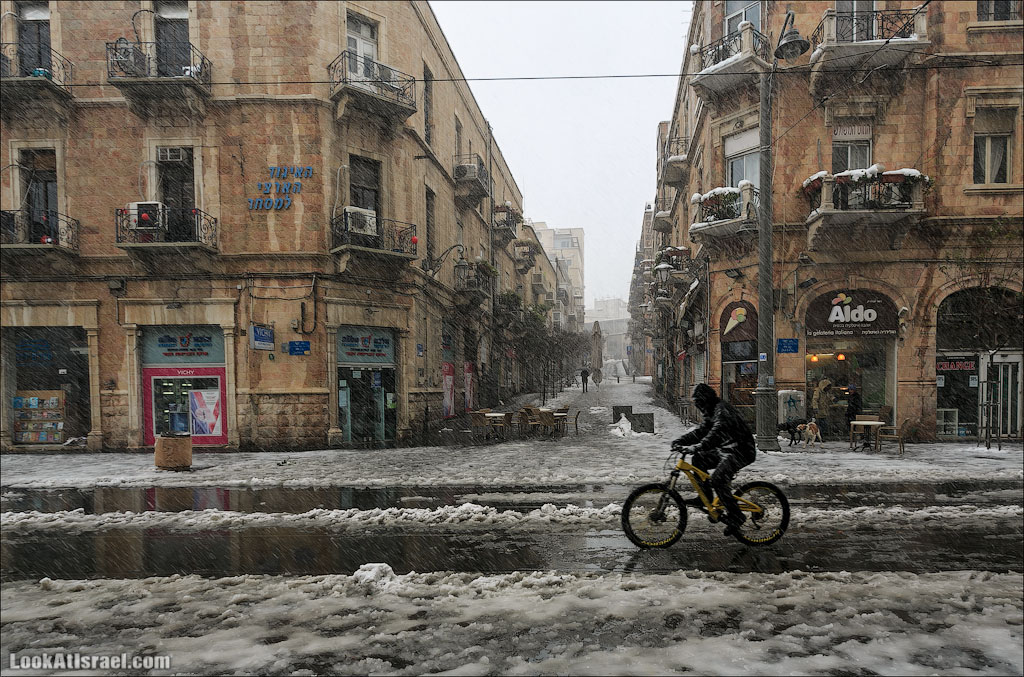 Снег в Иерусалиме   Snow in Jerusalem   שלג בירושלים