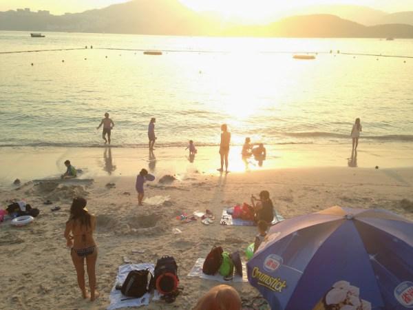 Half Moon Beach Hong Kong Hap Mun Bay