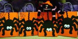 Spider Favor Bags