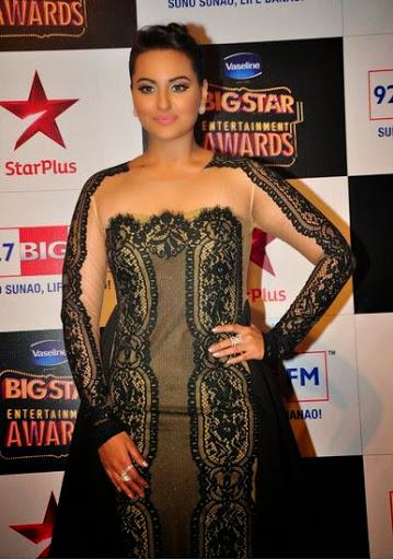 Sonakshi Sinha Body Size