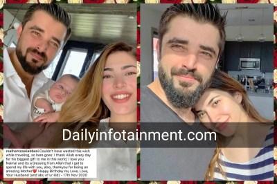 Hamza Ali Abbasi Heartful Note for Wife Naimal on her Birthday