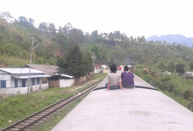 dima hasao district train
