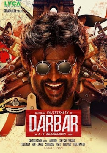 Darbar%2Bposter Darbar (2020) Full Movie Download 300MB 480P PDVD HD Free Hindi