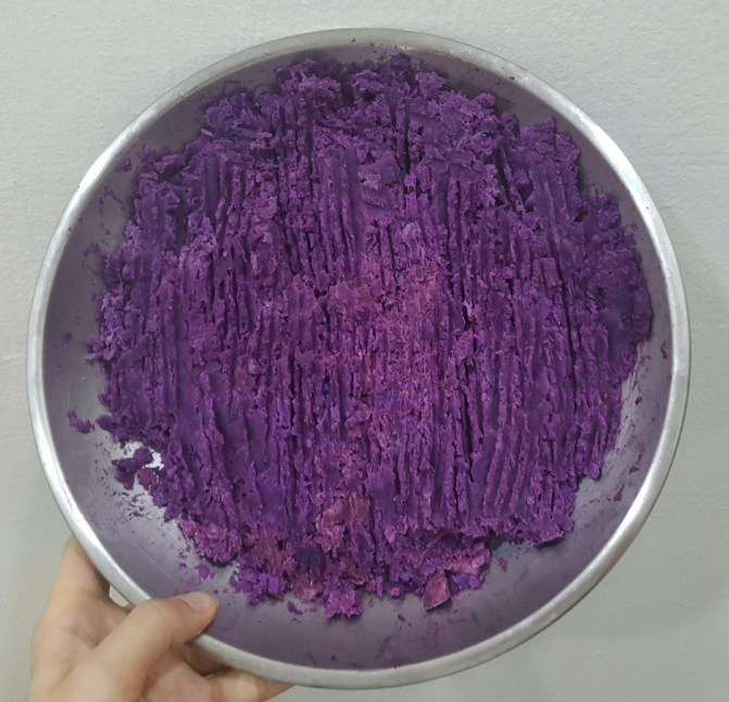Image result for purple sweet potato mooncake