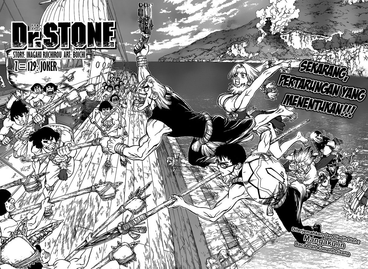Dr. Stone: Chapter 129 - Page 3