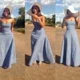 elegant tswana wedding dresses 2017