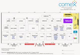 COMEX 2014 Floor Plan Lvl 4