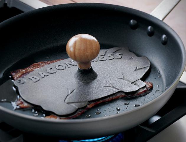 *趣味廚房小工具:培根鐵壓鏟! 1