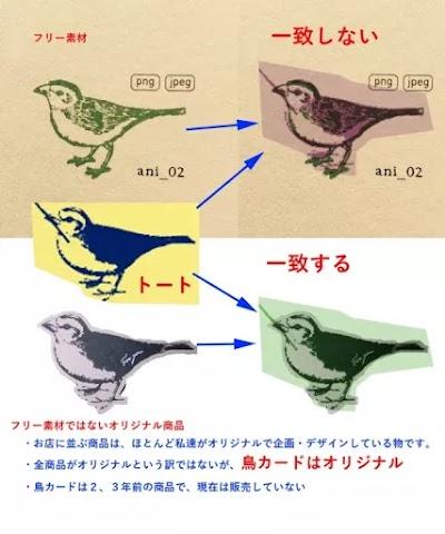 「佐野研二郎氏パクり・盗作疑惑6」トートバック:小鳥6
