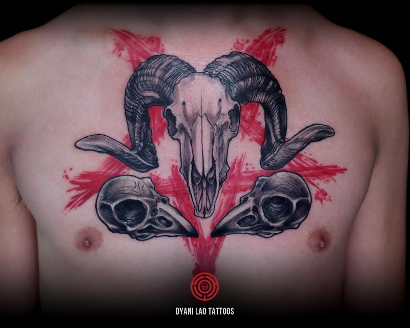 Pentagram - Dyani Lao Tattoos and Art