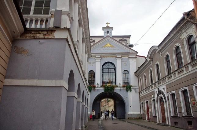 Qué ver en Vilna. Puerta de la Aurora, Vilna, Vilnius