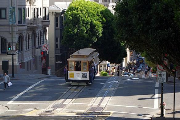 Tranvía en San Francisco