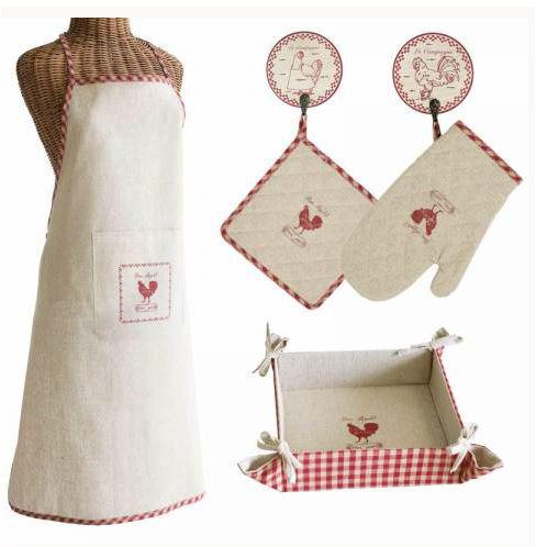 Textiles imprescindibles en la cocina