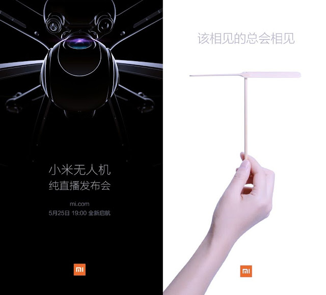 Chinese Tech Company, Xiaomi releasing it's First Drone  soon 2