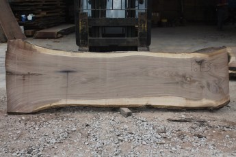 Walnut 169-3  Length 10' Max Width (inches) 40 Min Width (inches) 29 Notes 10/4 Kiln Dried