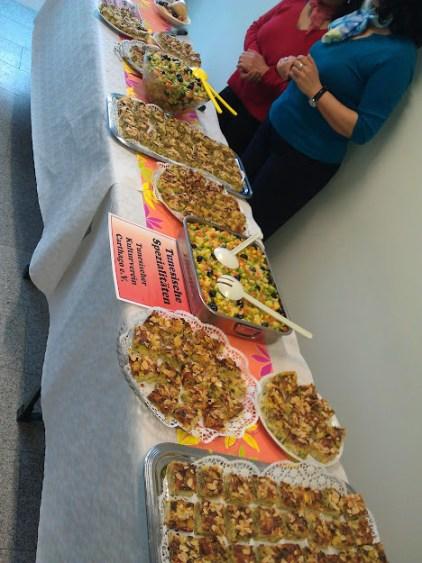 Bild vom tunesischen Essen beim Brunch Global
