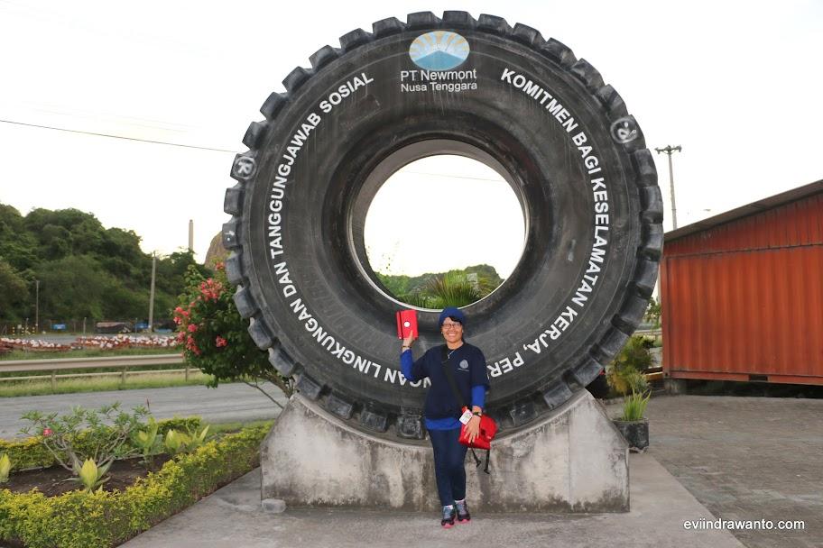 Salah satu peserta Batu Hijau Sumbawa BootCamp
