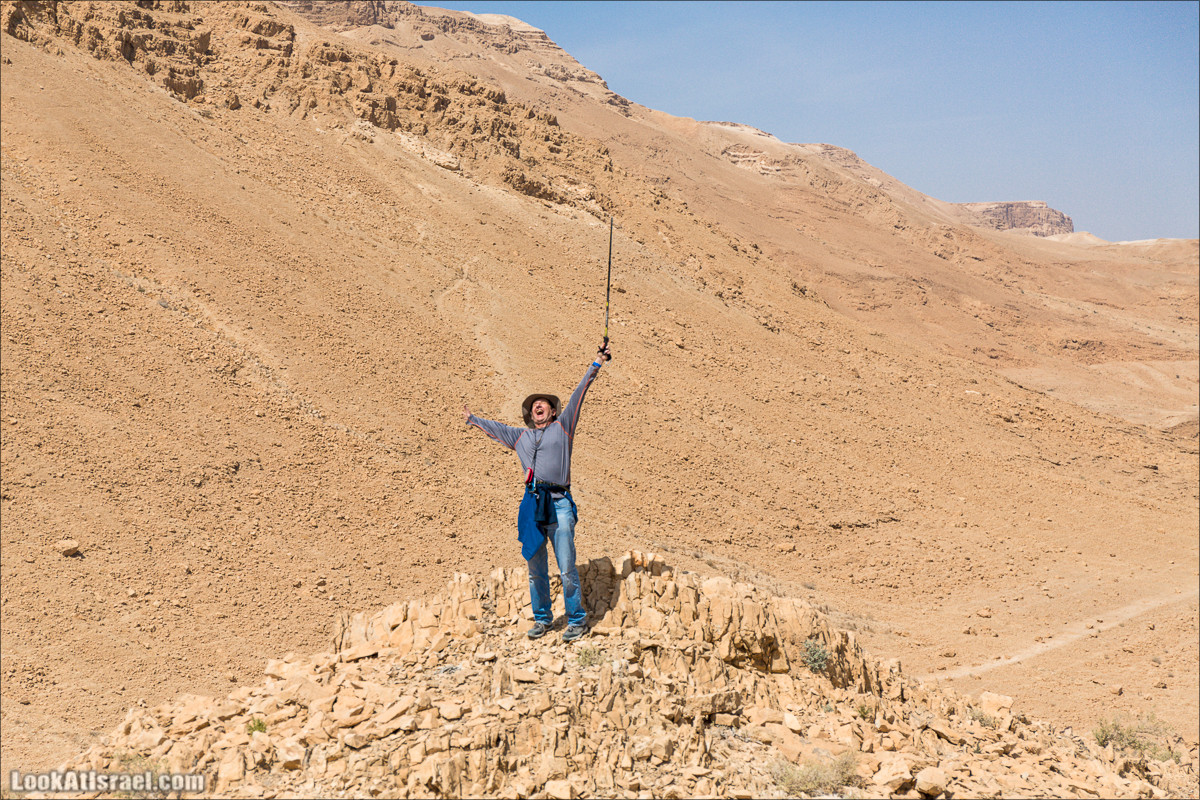 Крепость Зора, Нахаль Ром и нахаль Играх | Zohar, Rom, Izrah | נחל רום, זוהר, יזרח ומצד זוהר | LookAtIsrael.com - Фото путешествия по Израилю