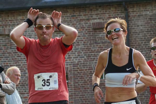 Tom Bonte en Nancy Vande Moortel