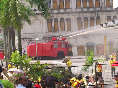 Water cannon everywhere