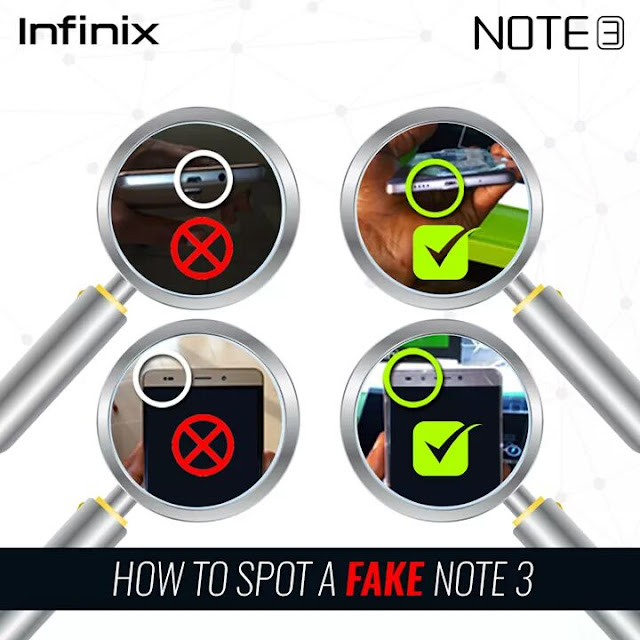 How To Spot A Fake Infinix Note 3 Smartphone 1