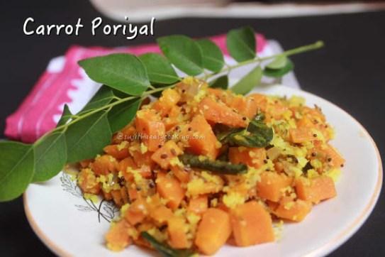 Carrot Poriyal2