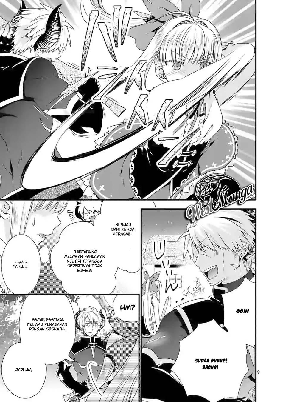 Maou desu Onna Yuusha no Hahaoya to Saikon Shita no de Onna Yuusha ga Giri no Musume ni Narimashita: Chapter 30 - Page 10