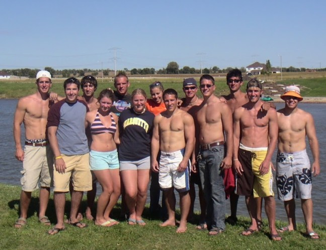 2004 Marquette Water Ski Team