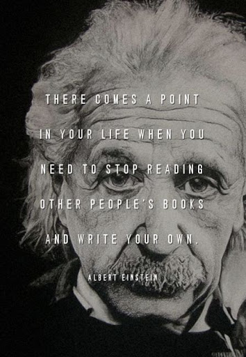 Inspirational life quotes from Albert Einstein book