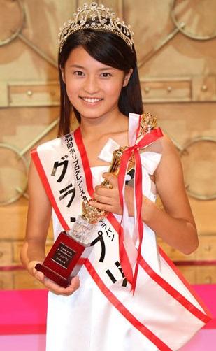 小島瑠璃子(こじるり)グランプリ受賞