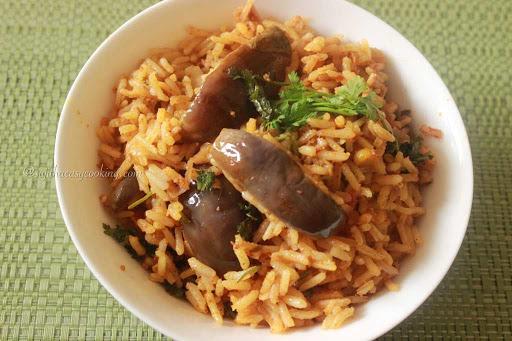 Brinjal Rice1