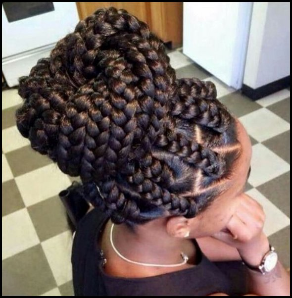 +10 Pretty African American Braided Hairstyles 2018 2