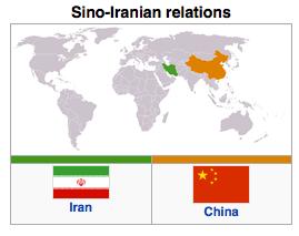 China - Iran Relations