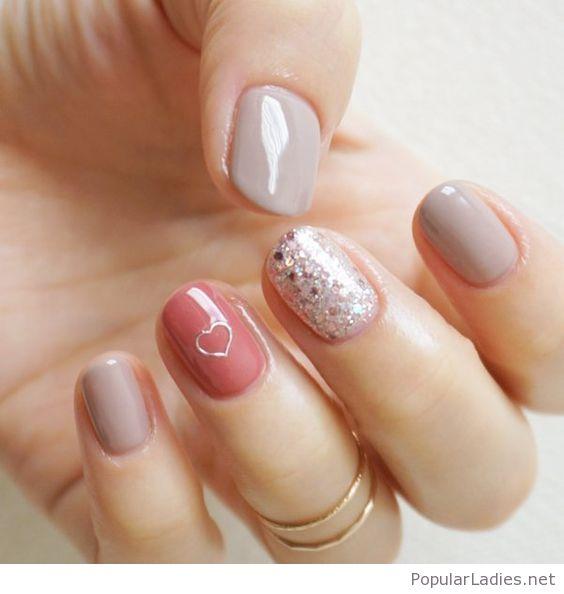 short nails gel acrylic