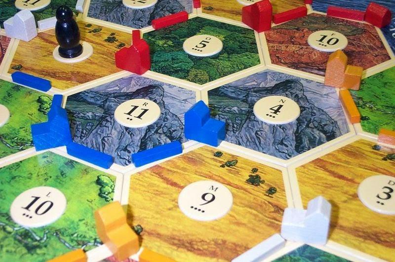 Catán. Juegos de mesa modernos